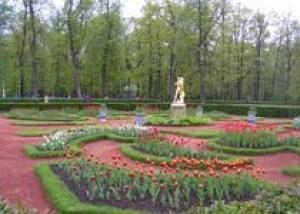Площадь цветников и клумб в Нижнем Новгороде летом 2008 года составит 97,5 тыс. кв. метров