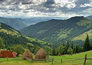 Наиболее развитый зеленый туризм на Закарпатье