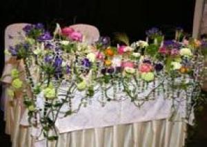 В рамках `Фестиваля цветов и ландшафтного дизайна` в Ленэкспо пройдет выставка свадебной флористики