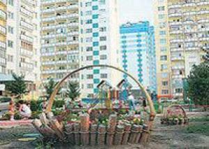 В Калининском районе самые зеленые дворы