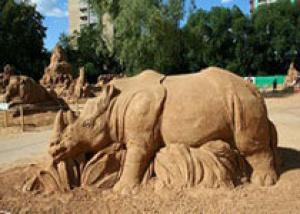 В Сургуте выберут лучшие песчаные скульптуры