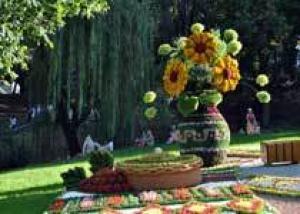 Выставка цветов «Река вышиванок» 2010. Глазами Любителя
