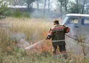За прошлые сутки на Дону вспыхнуло 87 ландшафтных пожаров