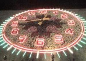 Цветочные часы потянут на 300 тысяч гривен