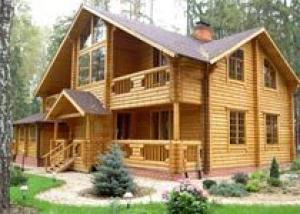 Роль загородного деревянного дома в создании на участке оригинального стилистического решения