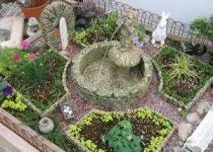 Создайте миниатюрный садик