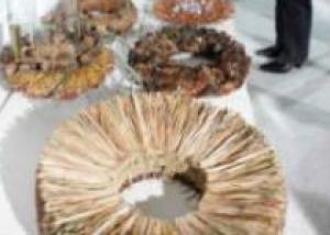 В Риге в Музее Природы открылась выставка флористики «В лесу»