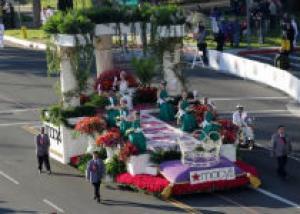 Парад роз в Калифорнии
