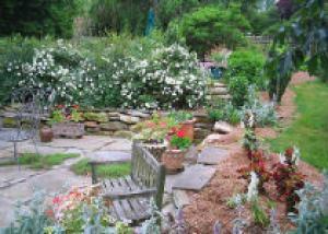 Необычные решения для маленького сада
