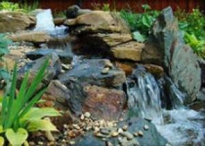 «Горный ручей» и «водный каскад»