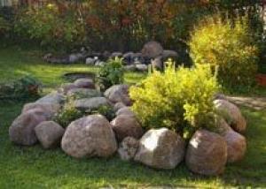 Создание каменного сада