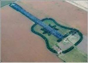 Кипарисовая гитара: загородный ландшафтный дизайн Педро Мартина Уреты