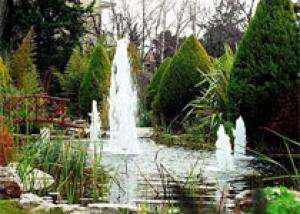 Обустройство фонтана в саду