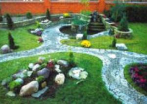 Дизайн бельгийского садика