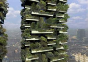Итальянцы предложили проект «вертикального леса» для мегаполисов