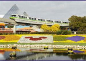 Посетители парка Эпкот увидят цветочную «Фантазию»