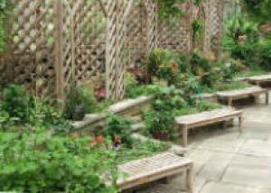 Трельяж садовый