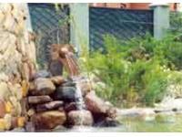 Фонтан для сада своими руками
