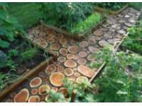 Оборудование садовых дорожек