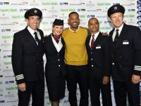 Уилл Смитт принял участие в эксклюзивной пресс-конференции British Airways