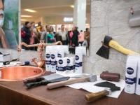 По острию ножа: смельчаки Ростова-на-Дону смогут попробовать экстремальные способы бритья в Барбершопе NIVEA MEN