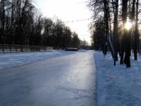 Открытие ледового катка в Перовском парке