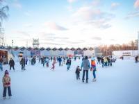 Предновогодняя вечеринка Lipton: свободный вход на каток в Сокольниках