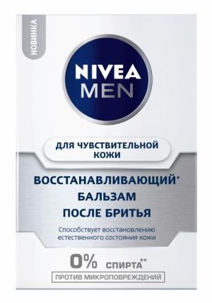 Восстанавливающий бальзам после бритья NIVEA MEN: комфорт и защита от микроповреждений