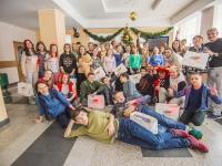 Для ребят с различными осложнениями в пансионате «Нара» состоялся благотворительный праздник